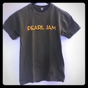 Pearl Jam band t-shirt 2016 tour